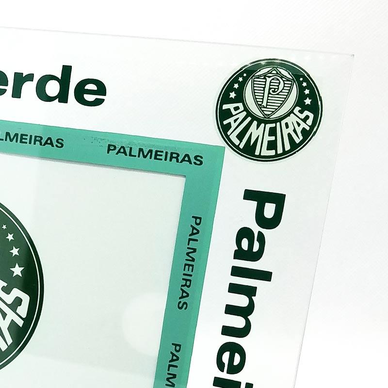 パルメイラス公式フォトスタンド【PALMEIRAS】置き型 | ホワイト×グリーン