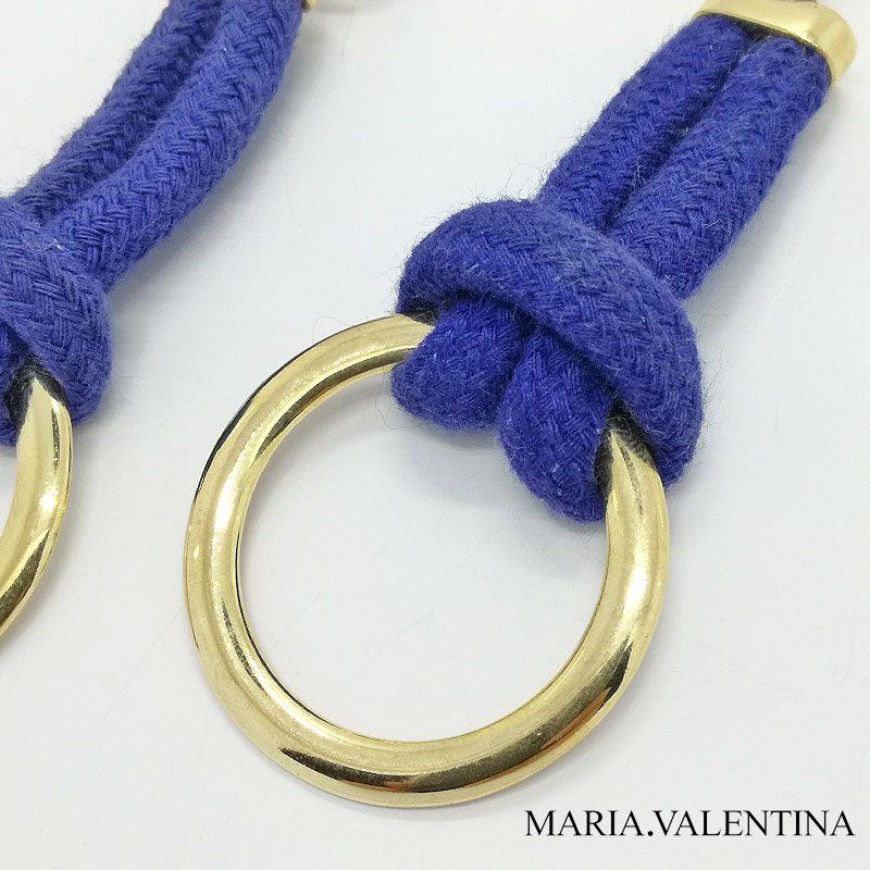 ■20%OFF■Maria Valentina【ブラジル天然石】ロープピアス|ソーダライト