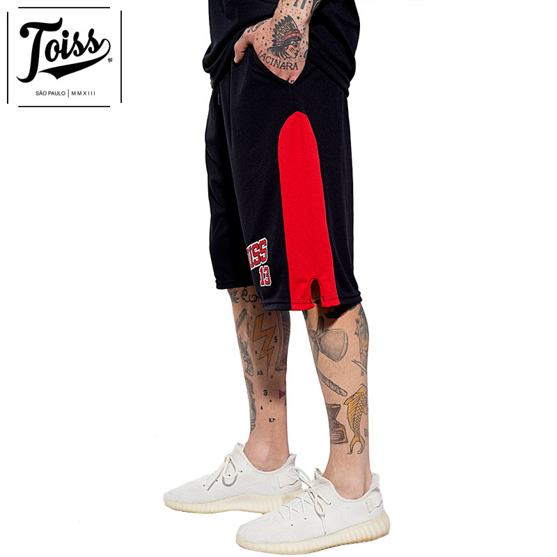 【TOISS】トイスメッシュバスパン 13 ハーフパンツ ブラック