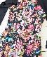 ■30% OFF■ 【QUIMBY】女の子長袖花柄ワンピース【おしゃれ・お出かけ着】ブラック