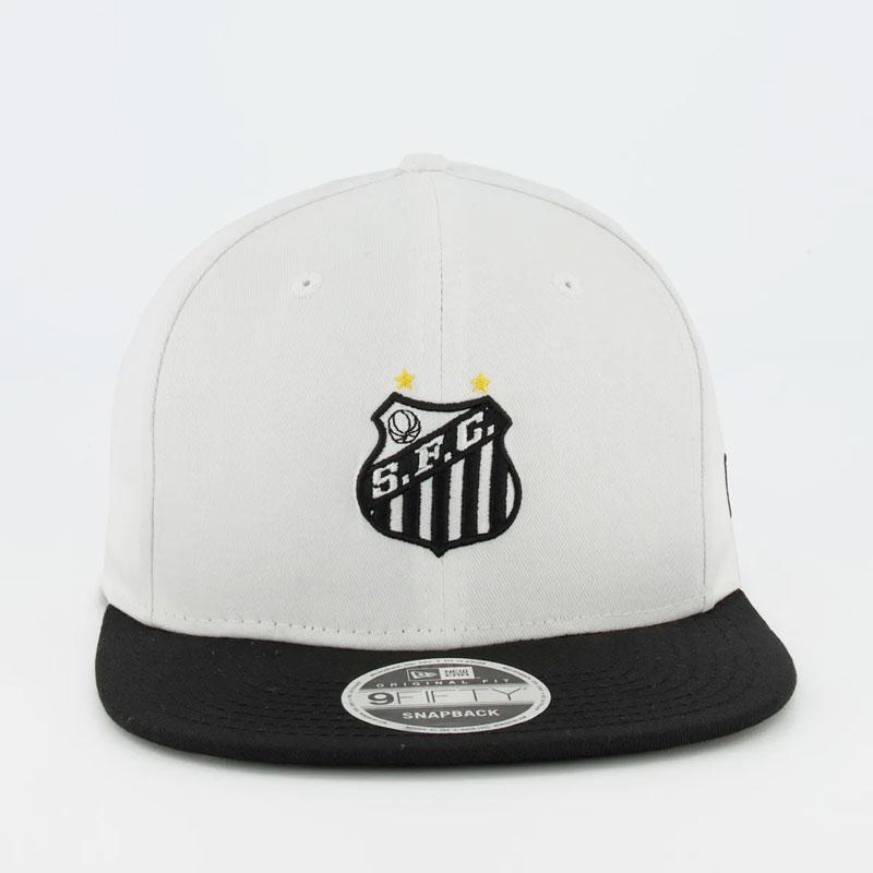 サントス公式【SANTOS FC】9fiftyキャップ NEW ERA | ホワイト×ブラック