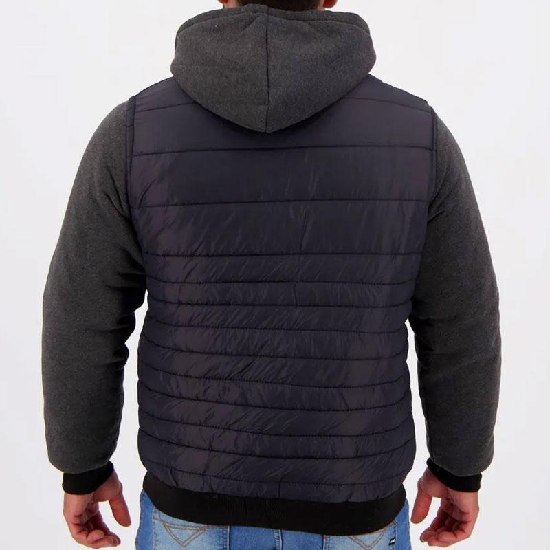 グレミオ公式フード付きダウンジャケット【GREMIO】ブラック