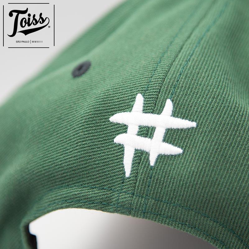 ネイマール着用【TOISS】Tスナップバックキャップ 【トイスキャップ】ダークグリーン