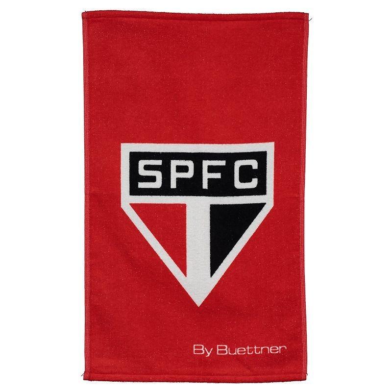 サンパウロ公式エンブレムフェイスタオル【SAO PAULO FC】レッド