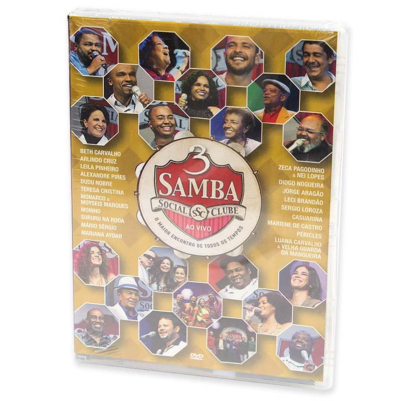 【SAMBA SOCIAL CLUBE AO VIVO】オムニバスDVD Vol.3