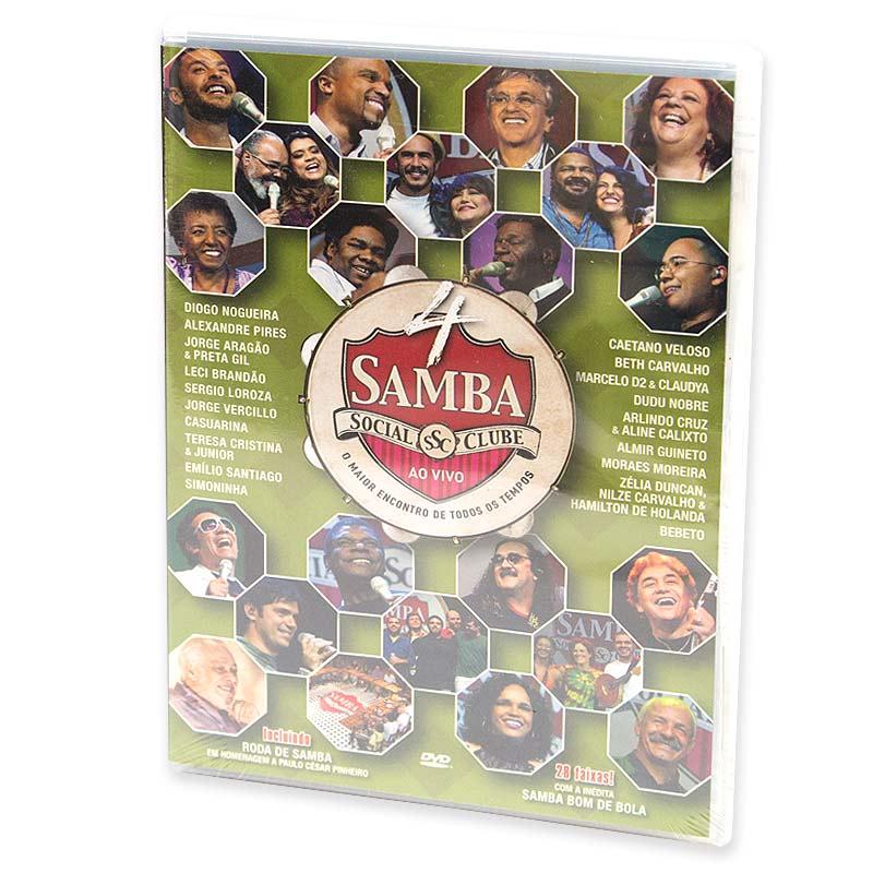【SAMBA SOCIAL CLUBE AO VIVO】オムニバスDVD Vol.4