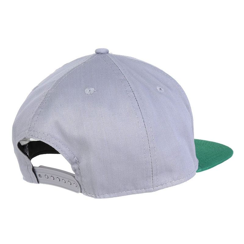 パルメイラス公式バイカラーキャップ NEW ERA 帽子【PALMEIRAS】 グレー×グリーン