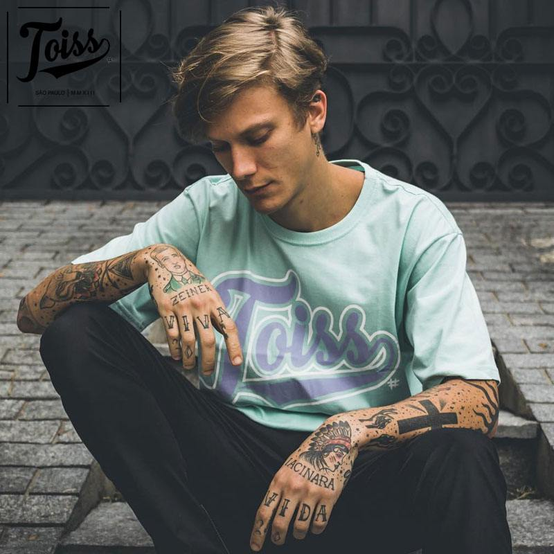 【TOISS】トイスオリジナルロゴTシャツ GELATTI   ミントグリーン