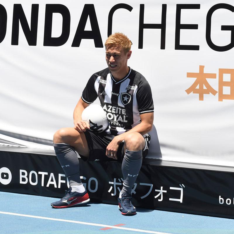 【HONDA 4番】本田圭佑ボタフォゴ公式ユニフォーム ホーム 背番号入り・フルスポンサー