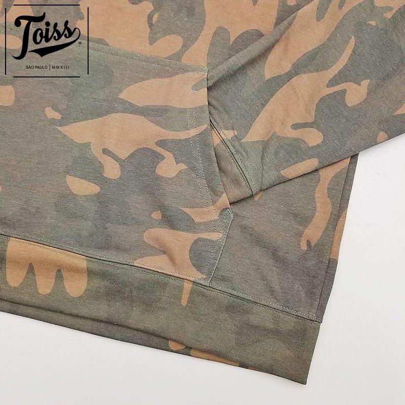 ■30%OFF■【TOISS】ネイマール愛用フード付き迷彩パーカー | カモフラ