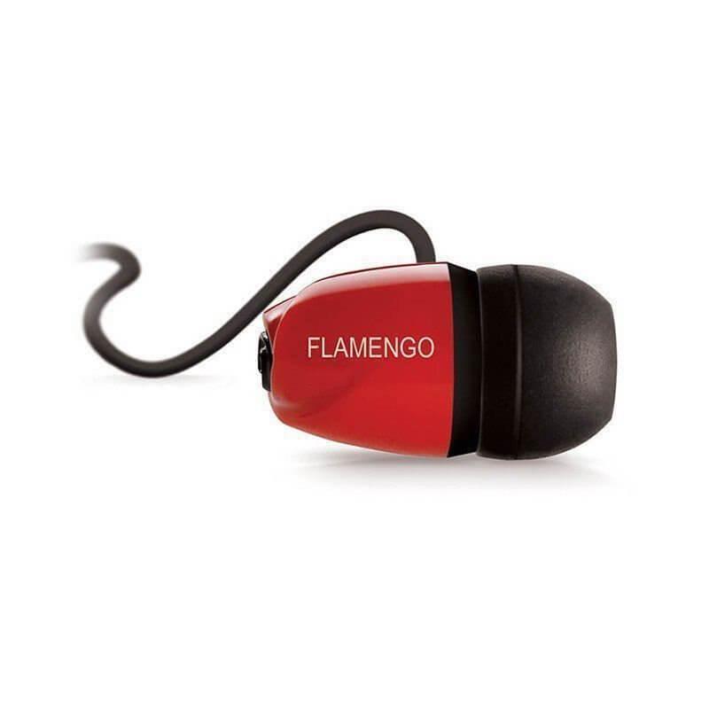 フラメンゴ公式イヤホン FLAMENGO | レッド×ブラック