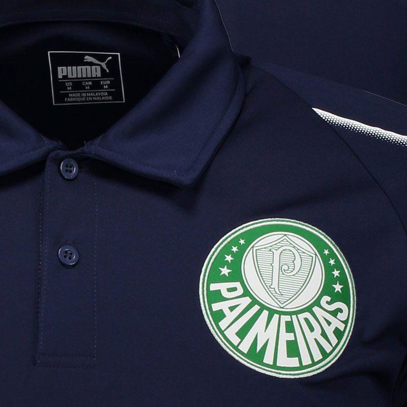 パルメイラス襟付きTシャツ ネイビー【PALMEIRAS公式】PUMA
