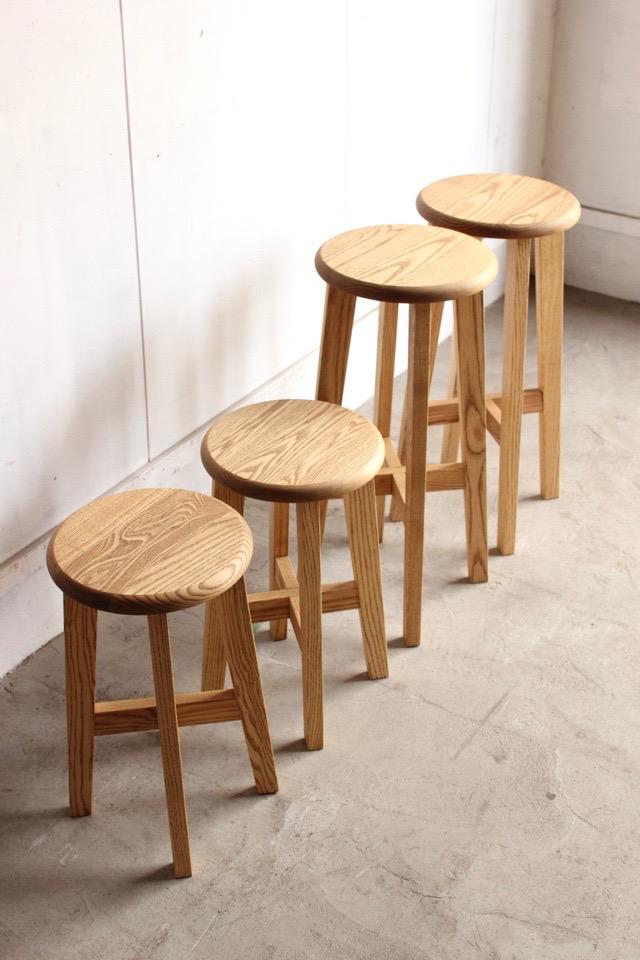 松野屋 丸椅子(大)