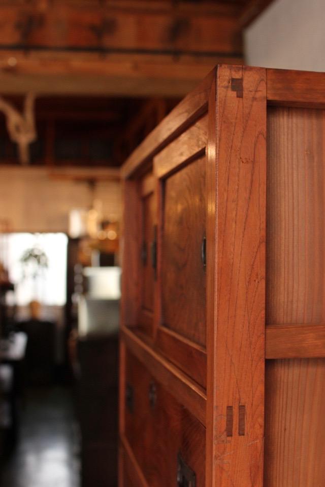 前欅の箪笥
