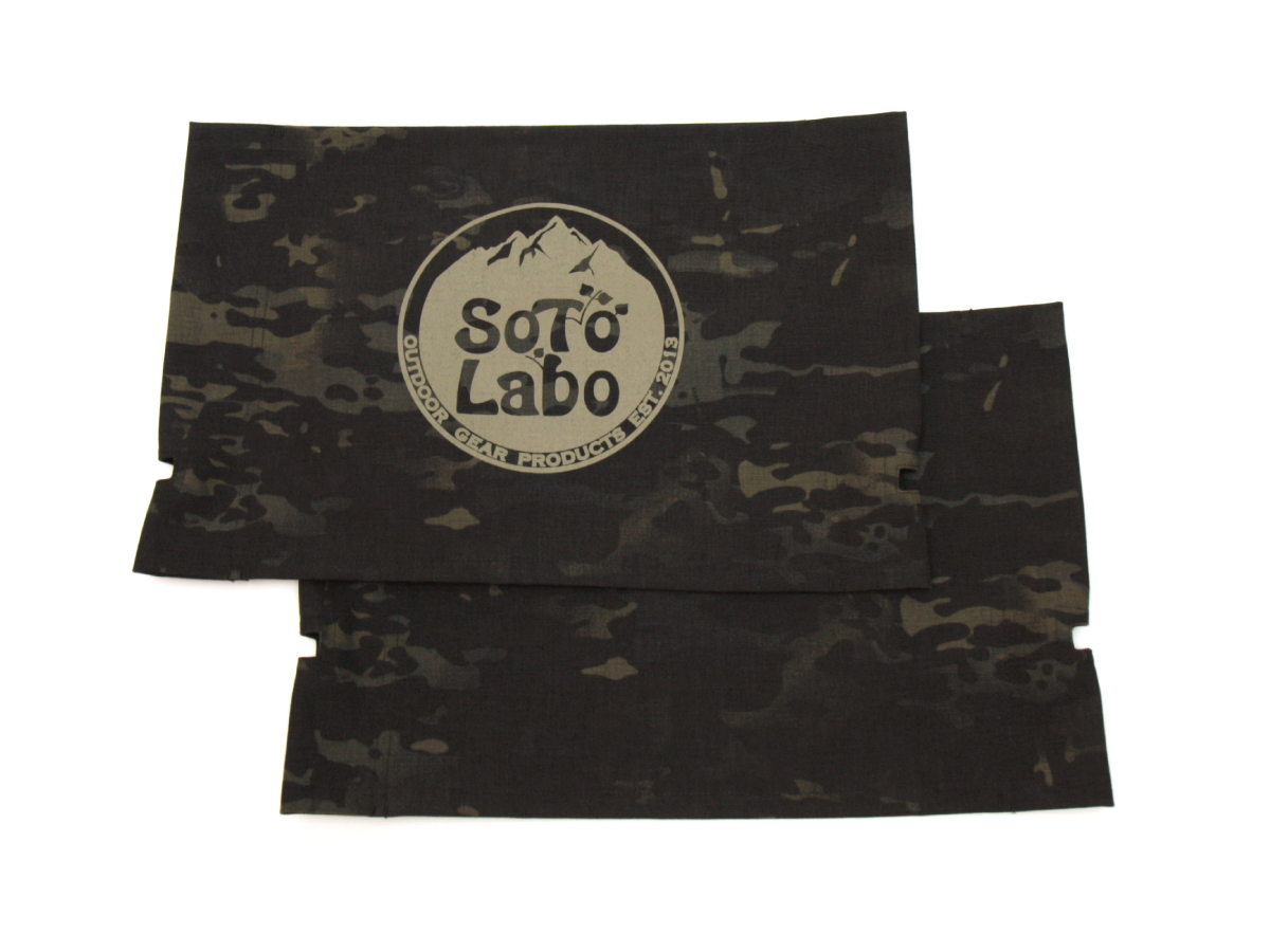 Custom KermitChair Fabric MIL-SPEC    Multicam Black