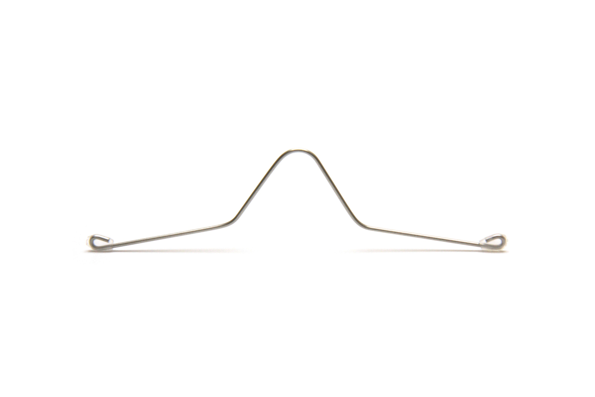 """Adjustable Mask Nose Fit Wire  <br>""""Stainless"""" <br>アジャスタブルマスク <br>ノーズフィット ワイヤー <br>ステンレス"""