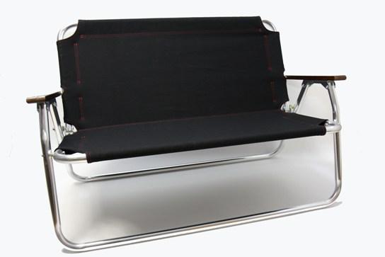 キャプテンスタッグ 背付きベンチ用ファブリック(生地)