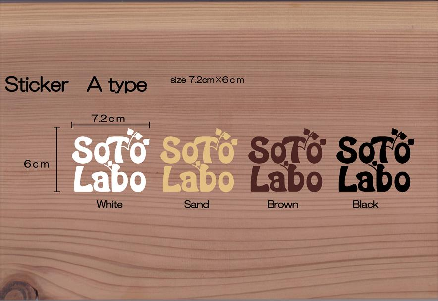 SotoLabo sticker / A type