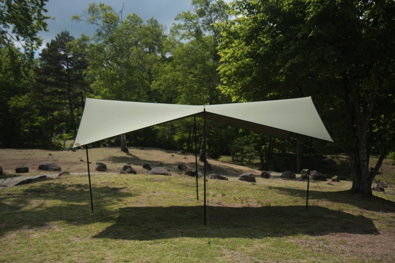 cotton KOKAGE tarp ARMY GREEN