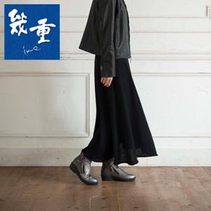 幾重【ikue】 4E ダブルファスナーブーツ i9103