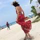 オールインワン 50%OFF SALE!!バックストラップ ワンピース リゾートファッション マキシ ビーチドレス
