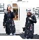 2020 秋冬新作!! ロング ファー ダウンジャケット スリム コート