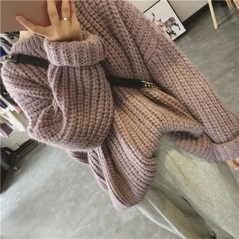 秋冬先取りSALE!! オーバーサイズ ニット セーター ルーズフィット
