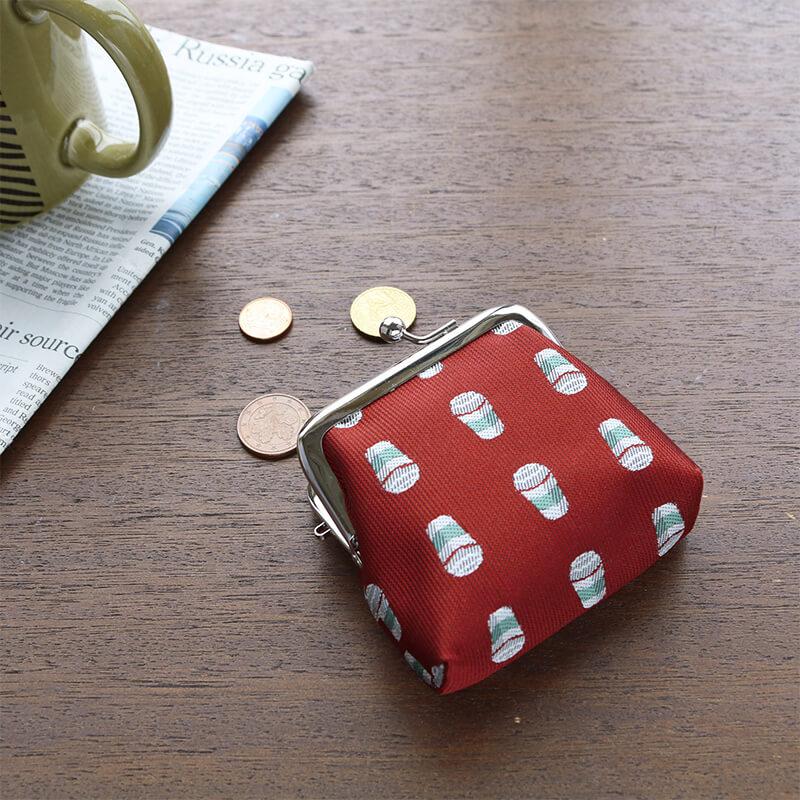トラッド2.5角マチ コーヒーレッド