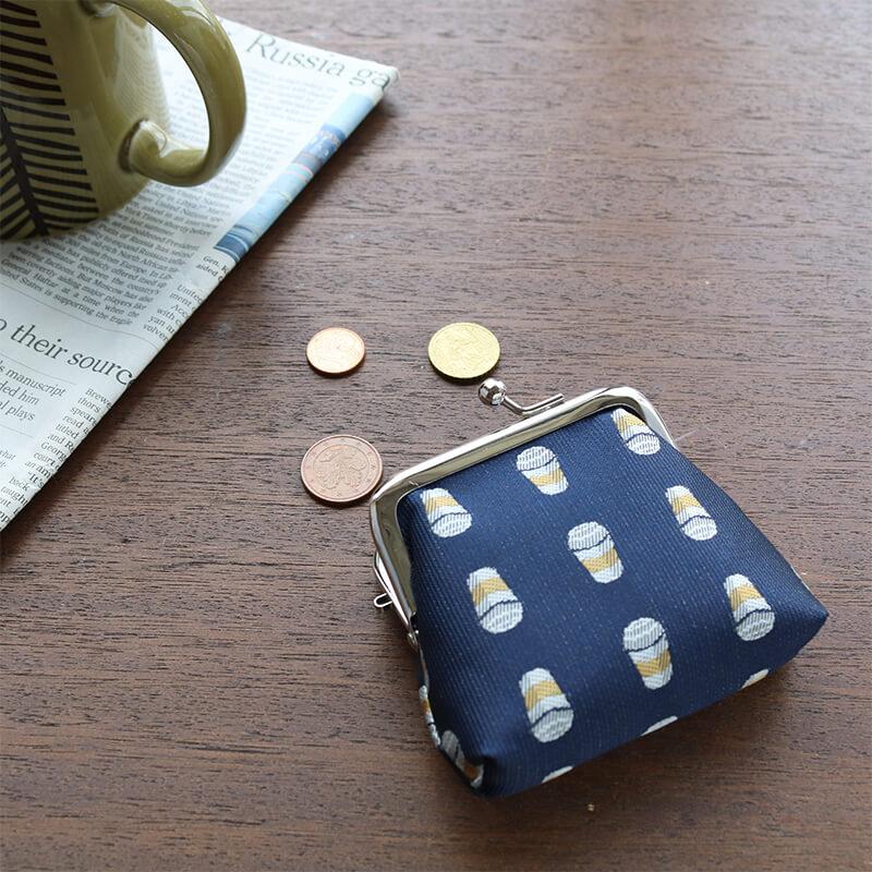 トラッド2.5角マチ コーヒーネイビー