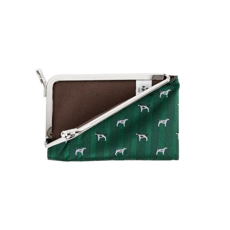 がま口 カードケース / ガラント3.3カードケース ドッググリーン