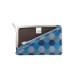 がま口 カードケース / 和文様3.3上溝カードケース 亀甲青