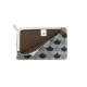 がま口 カードケース / 和文様3.3上溝カードケース 青海波黒