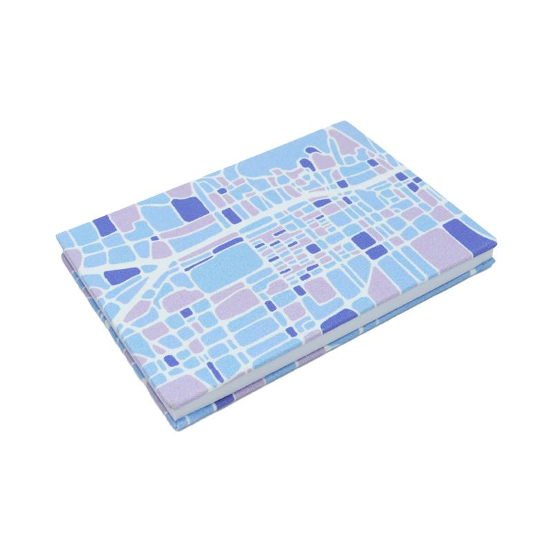 京都地図御朱印帳 ブルー [てんてんてん]