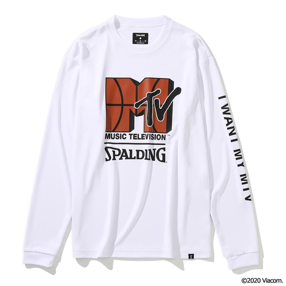 ロングスリーブTシャツ MTV バスケットボール SMT201540