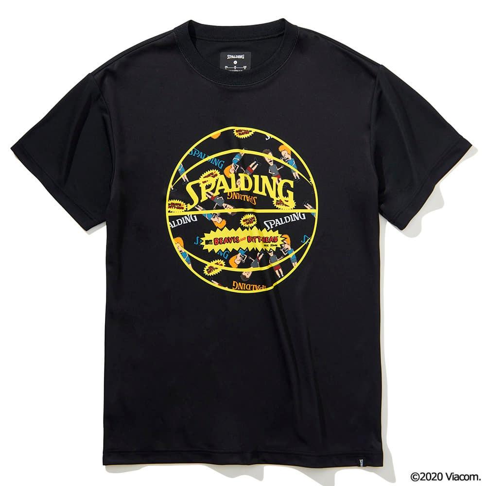 Tシャツ ビーバスアンドバットヘッド ボールプリント SMT201590