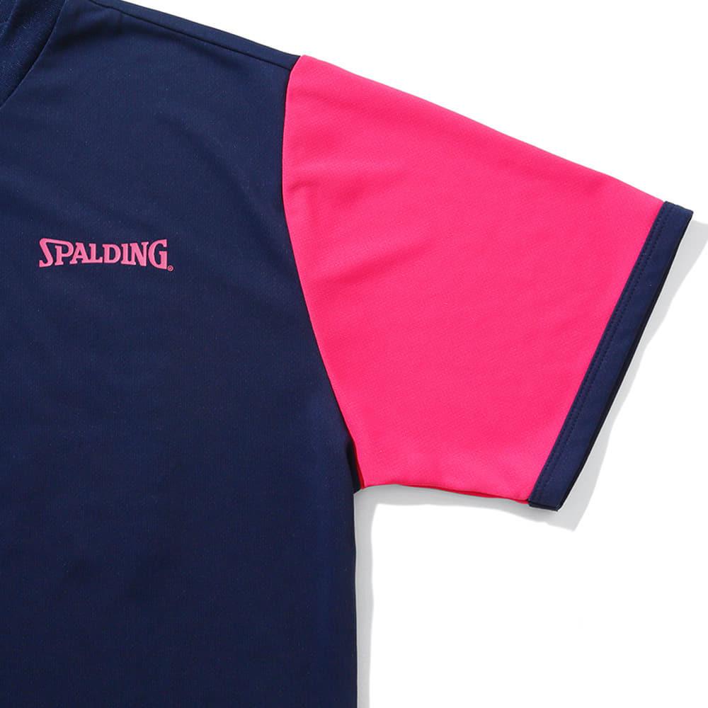 バレーボールTシャツ  スポルディングアイコン SMT210610