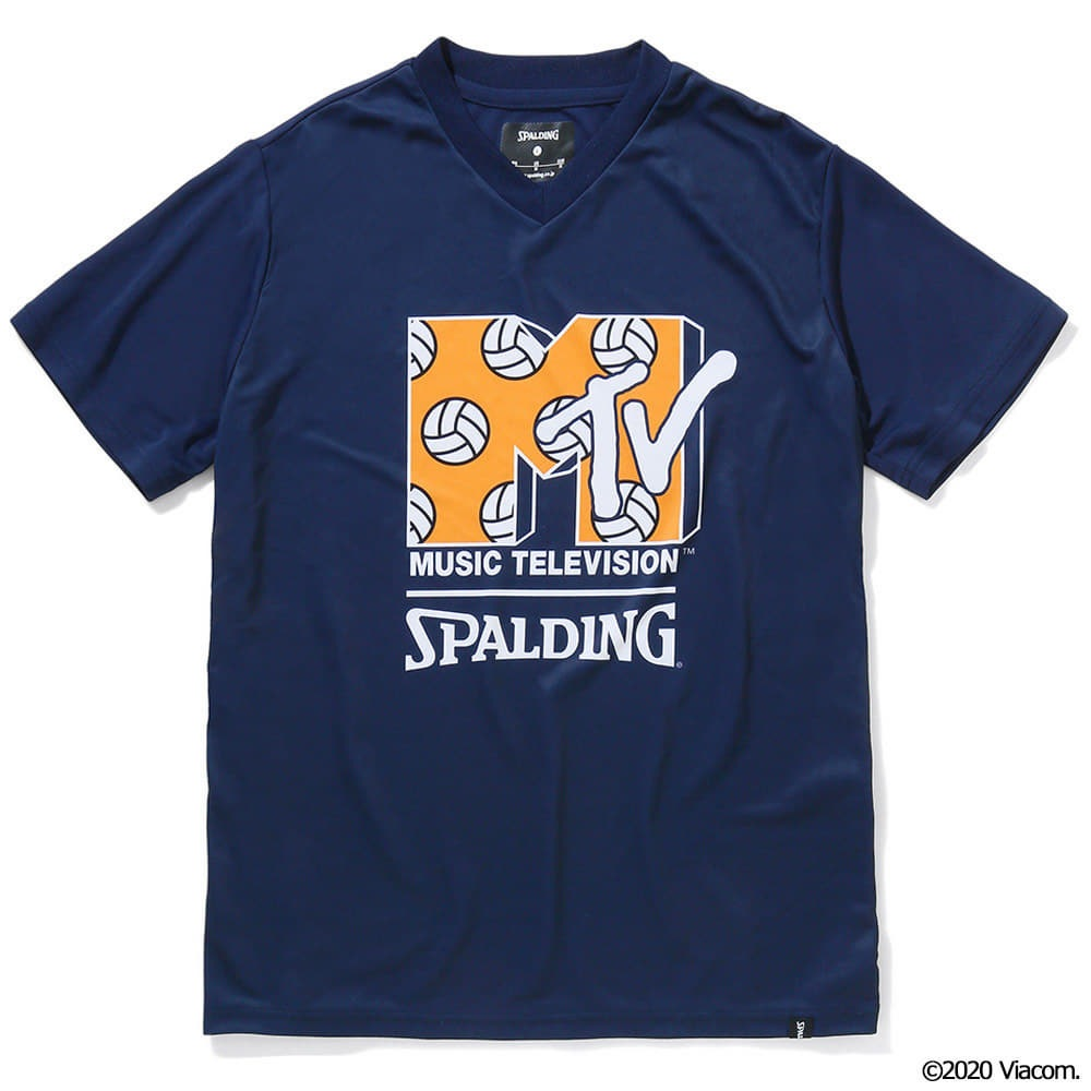 バレーボールTシャツ  MTV ボールロゴ SMT210640