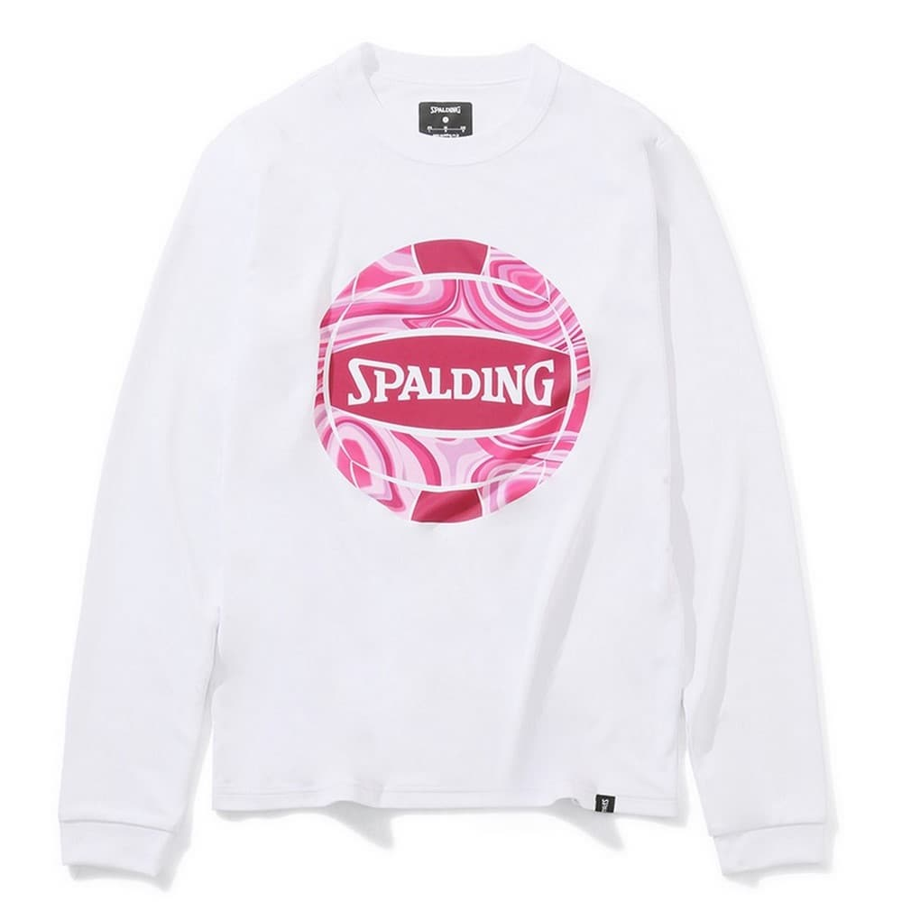 バレーボール ロングスリーブTシャツ ネオンマーブルボール SMT201890