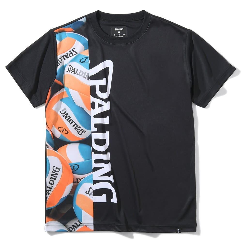 バレーボール Tシャツ ボールアンドロゴ SMT200730