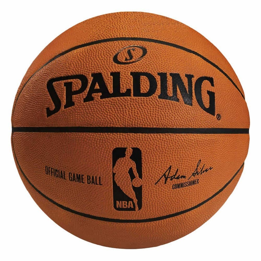 オフィシャルNBAゲームボール 天然皮革 7号球 NBAロゴ入り 74-569Z