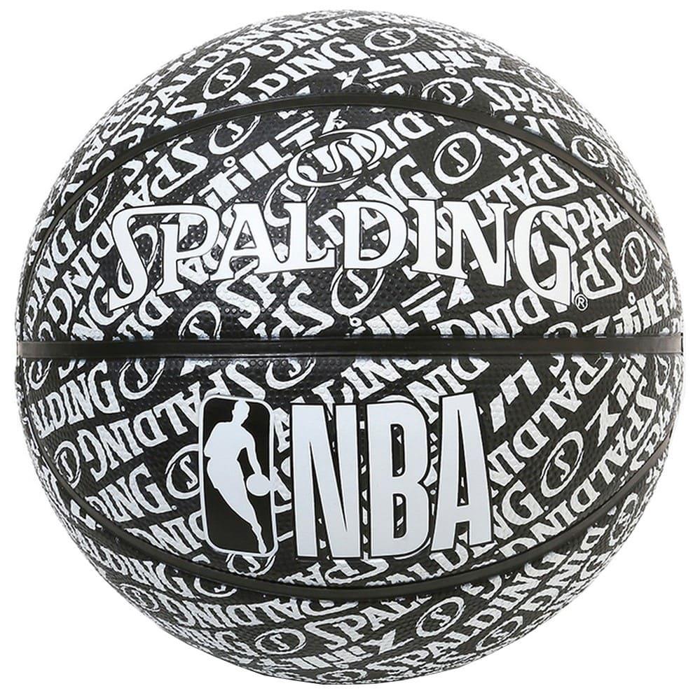 タイポグラフィー ラバー 7号球 NBAロゴ入り 84-074J