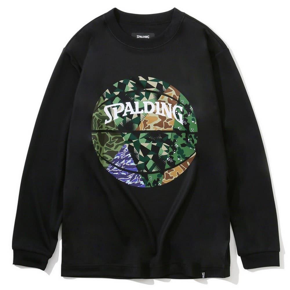 ジュニアロングスリーブTシャツ ミックスカモボール SJT201680