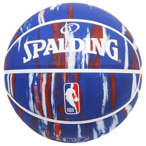 NBA ロゴマン マーブル ブルー ラバー 7号球 NBAロゴ入り 84-096J