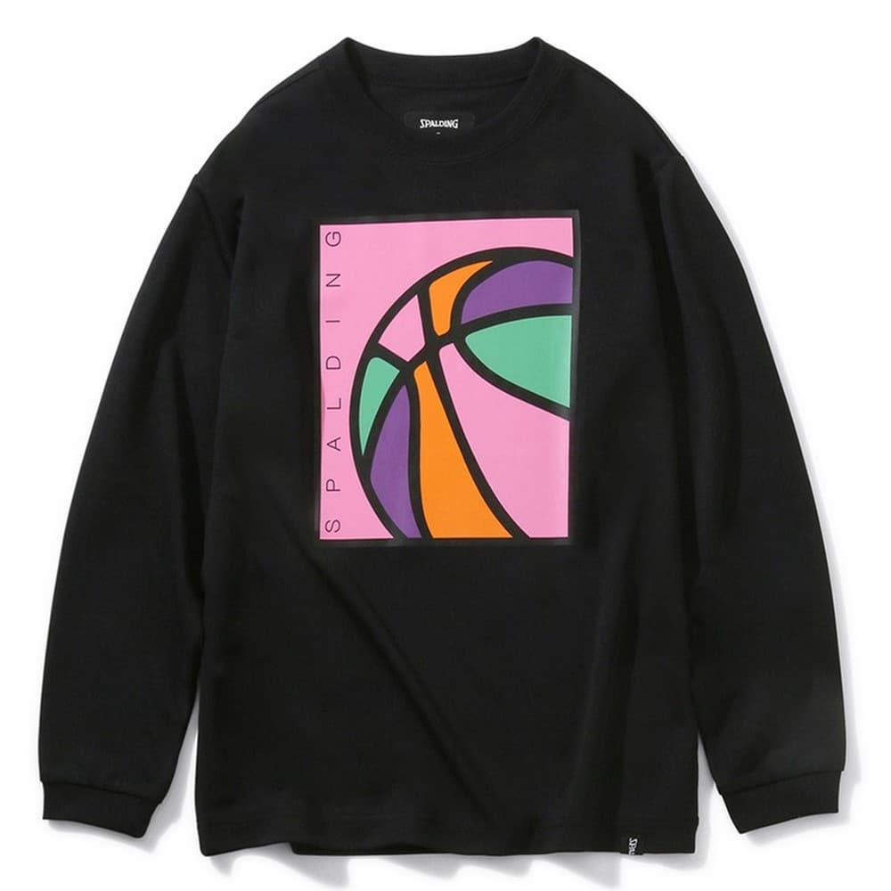 ジュニアロングスリーブTシャツ ネオンボール SJT201730