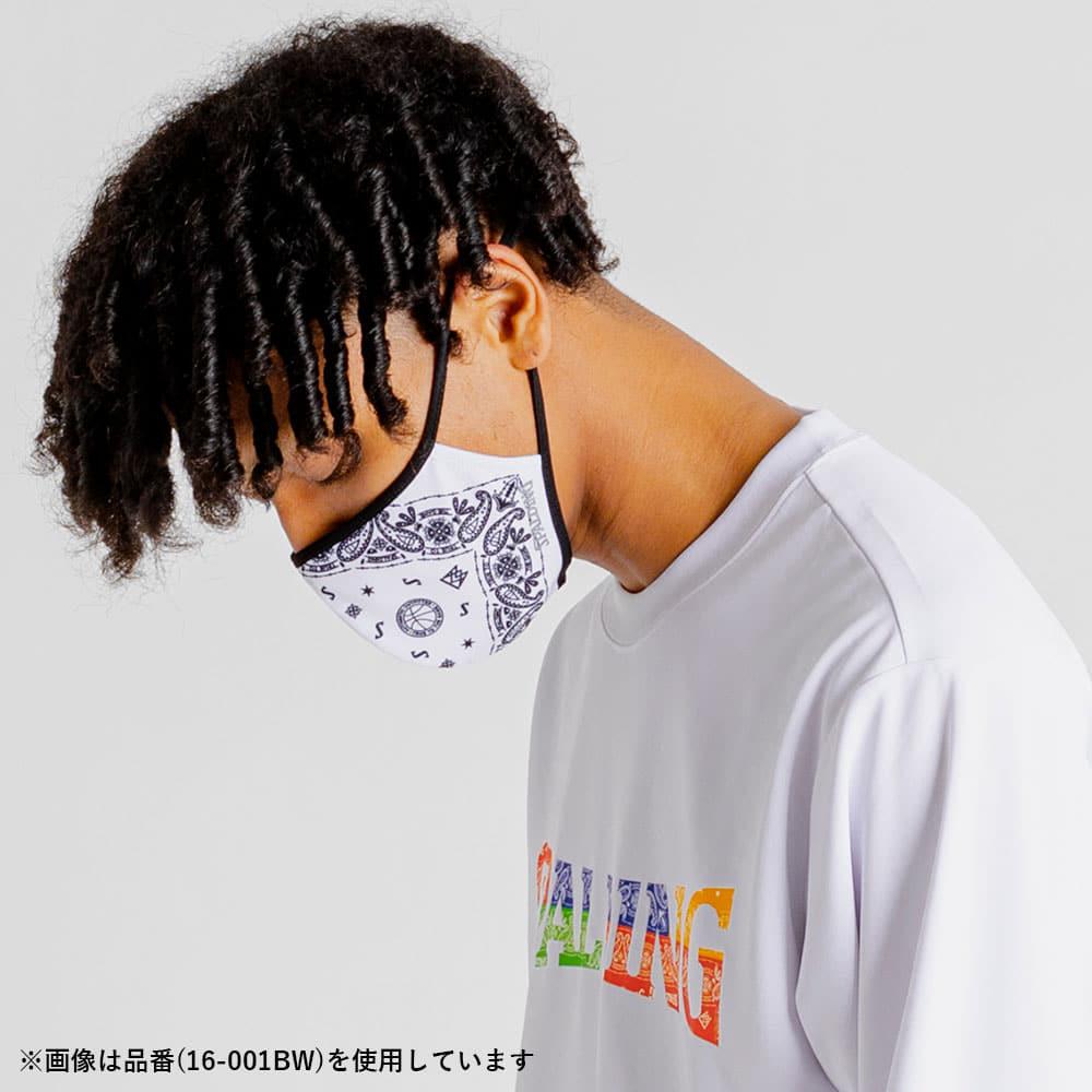フェイスマスク バンダナ ホワイト 16-001BW