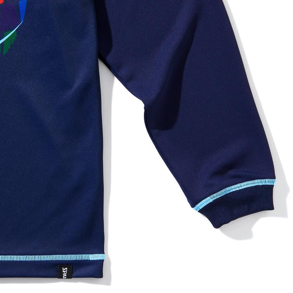ジュニアロングスリーブTシャツ オプティカルレインボー SJT211640