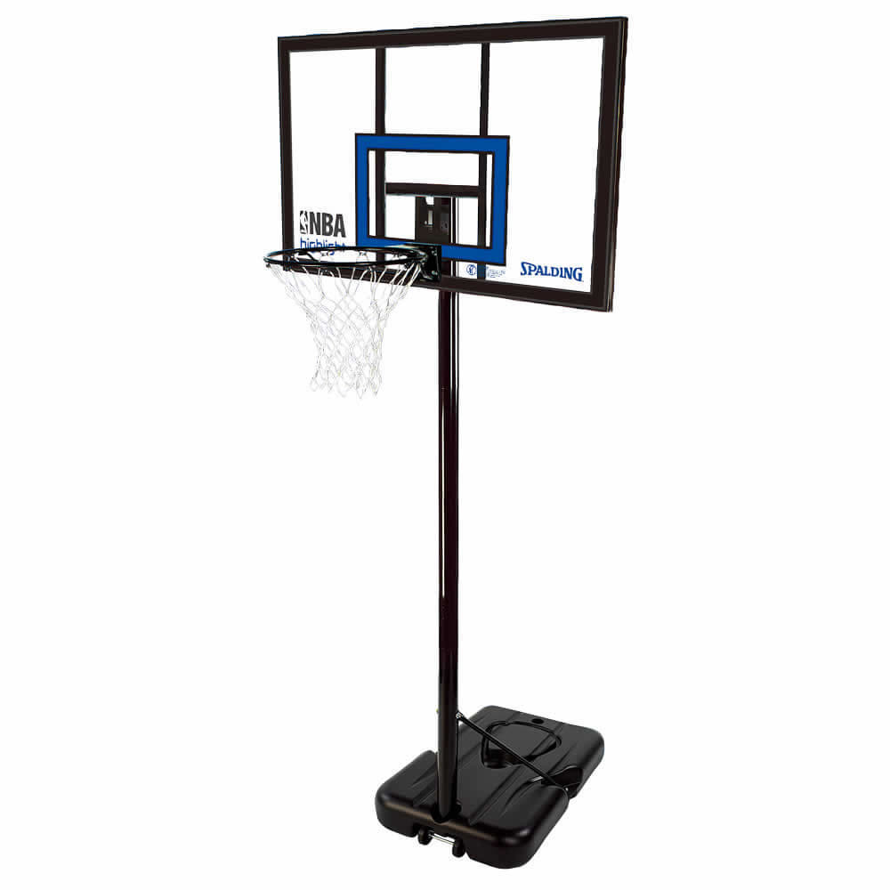 ハイライトアクリルポータブル NBAロゴ入り バスケットゴール 77455CN