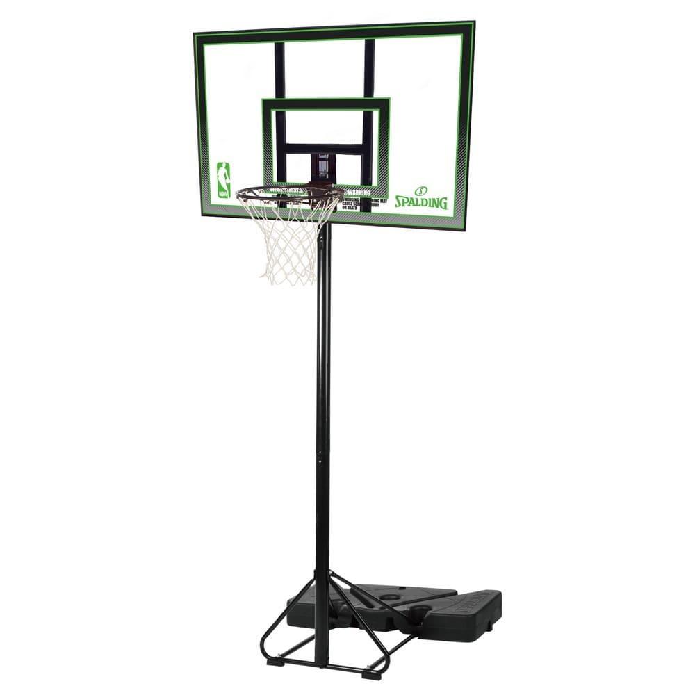 42 インチ ポリカーボネイト ポータブル NBAロゴ入り バスケットゴール 62077JP