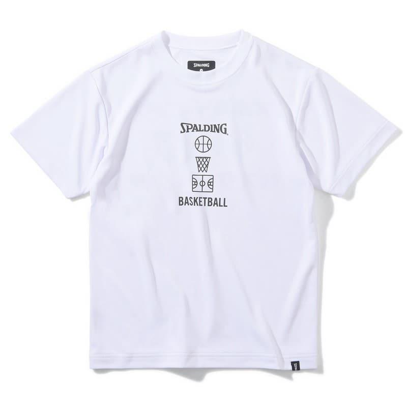 ジュニア Tシャツ バスケットボールモチーフ SJT200700