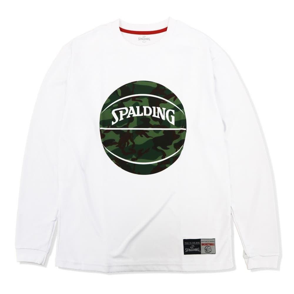 ロングスリーブTシャツ カモマーブルボール SMT183090